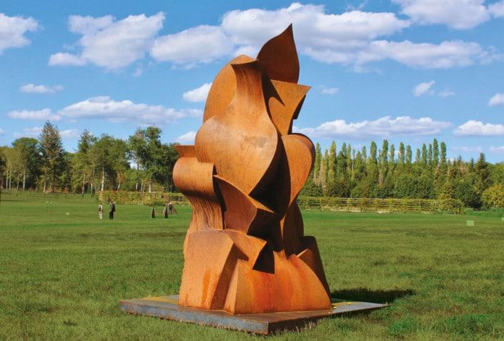 Oeuvre de Eric Vialla - Jardin des Arts 2021