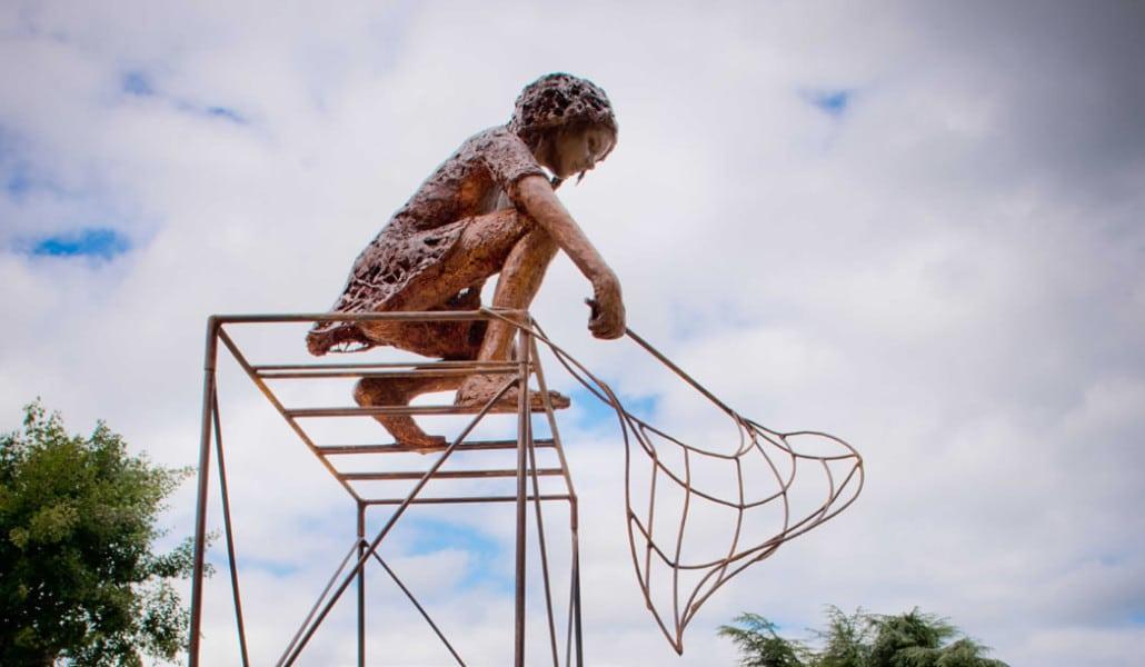 Oeuvre de Nell Stride - Jardin des Arts 2021