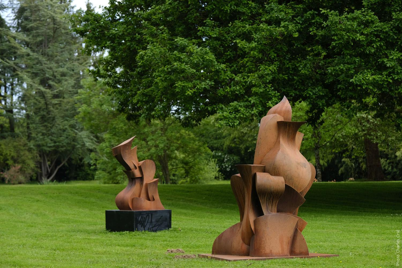 Oeuvres d'Eric VIALLA - Jardin des Arts 2021