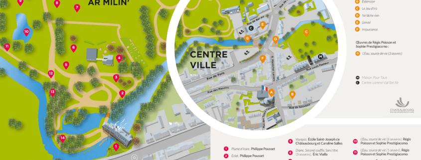 Plan - Jardin des Arts 2021