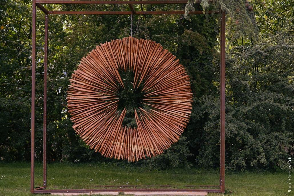 L'éclat de Philippe POUSSET - Jardin des Arts 2021